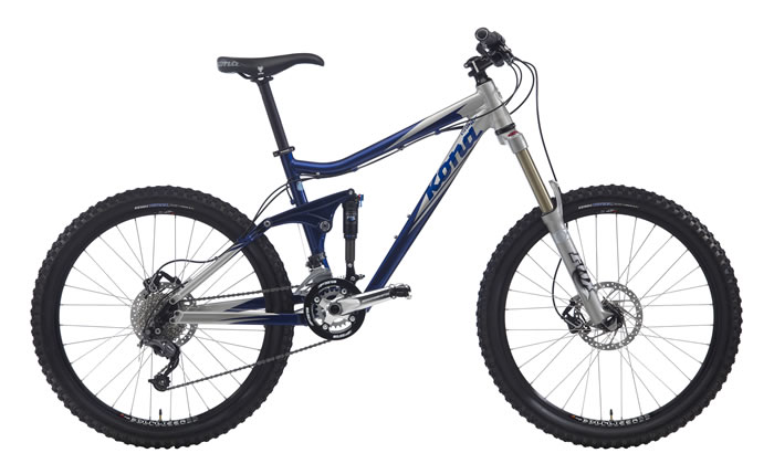 Kona Clump Butted Aluminum Magic Link Freeride Frame With Auxiliary Shock  System ...